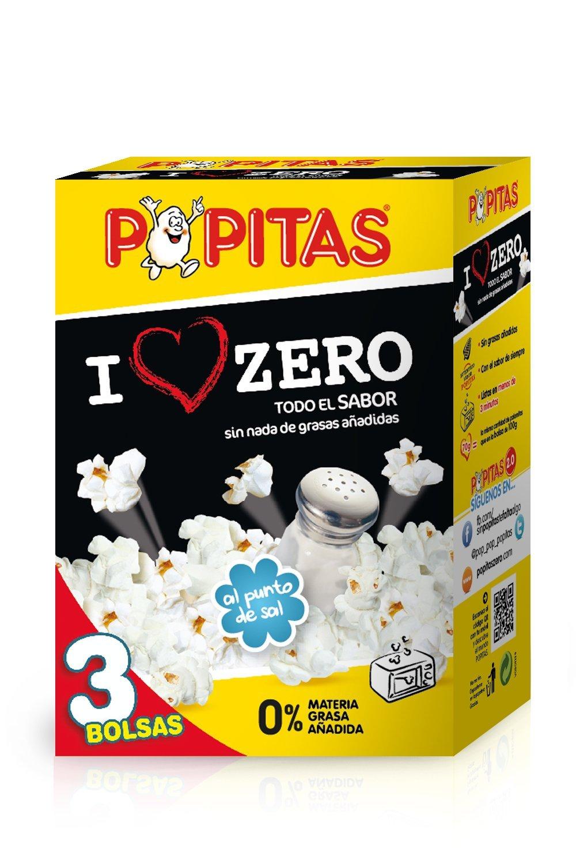 Popitas Zero - Palomitas Saladas para Microondas, Sin Gluten ...