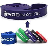 WOD Nation Pull up Assistance Band Set - Best for Pullup Assist, Chin Ups, Resistance Band Exercise, Stretch, Mobility…