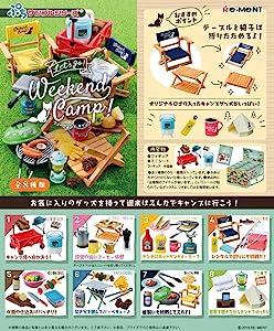 Re-Ment Miniature Let's Go Weekend Camp Full Set 8 Packs