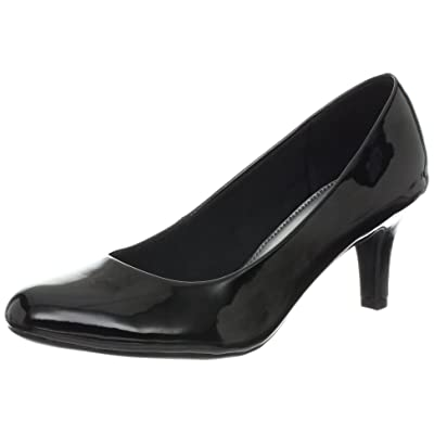LifeStride Women's Parigi Dress Pump, Black Glory, 7 M US | Pumps