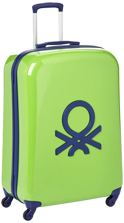 Benetton Maleta, 72902, talla única, verde - Vert (001), 72902: Amazon.es: Ropa y accesorios