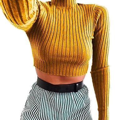 Damen Langarm Strickpullover Pullover Pulli Knöpfe Strickwaren Baggy Jumper Tops