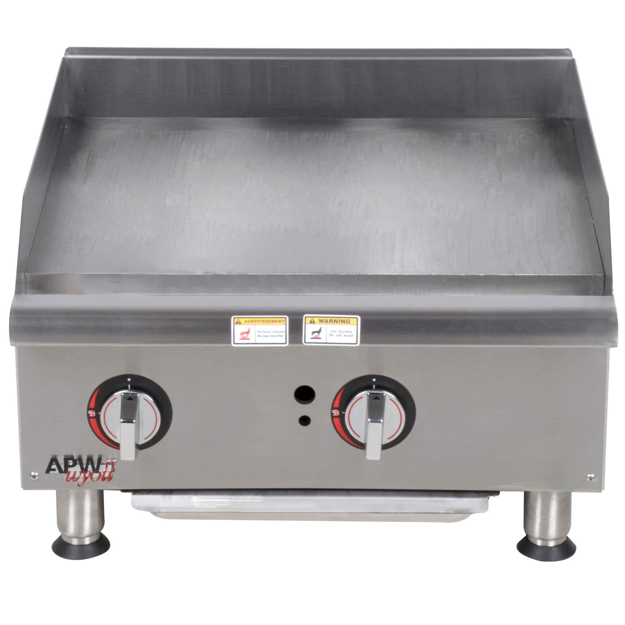 TableTop King GGM-24i 24'' Countertop Griddle - 50,000 BTU