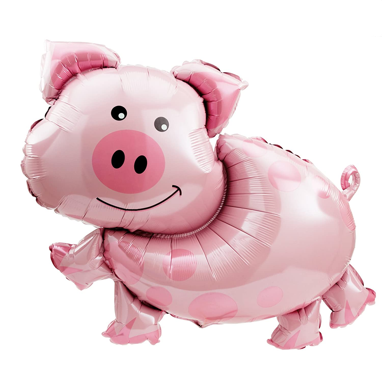 BirthdayExpress Pig Jumbo Foil Balloon Birthday Express SG/_B001TCY2DO/_US