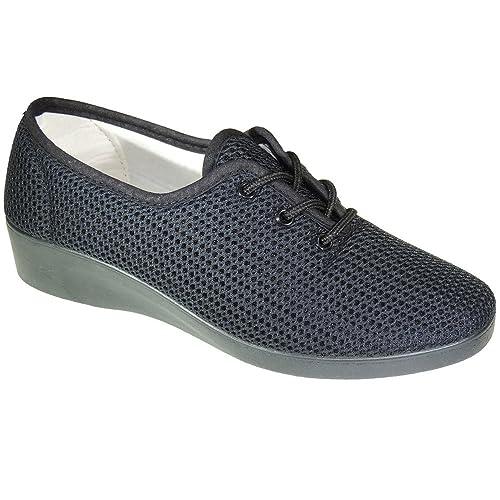 CANOVAS Ruiz 8000 Zapatilla de Rejilla En Cordones para Mujer: Amazon.es: Zapatos y complementos