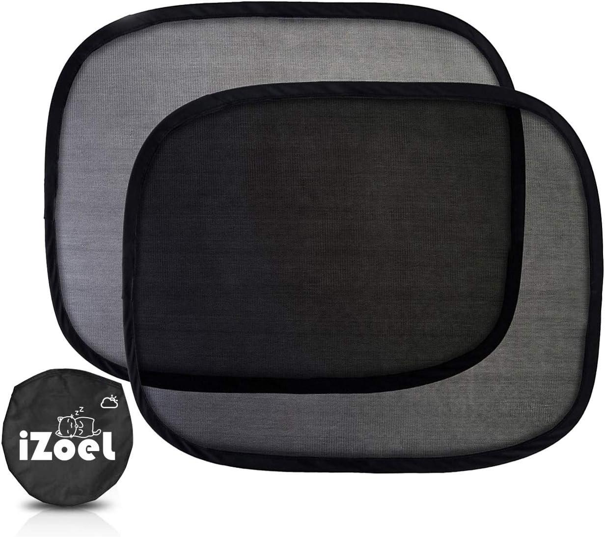XL f/ür gro/ße Seitenfenster Kinder iZoeL Auto-Sonnenschutz f/ür Babys
