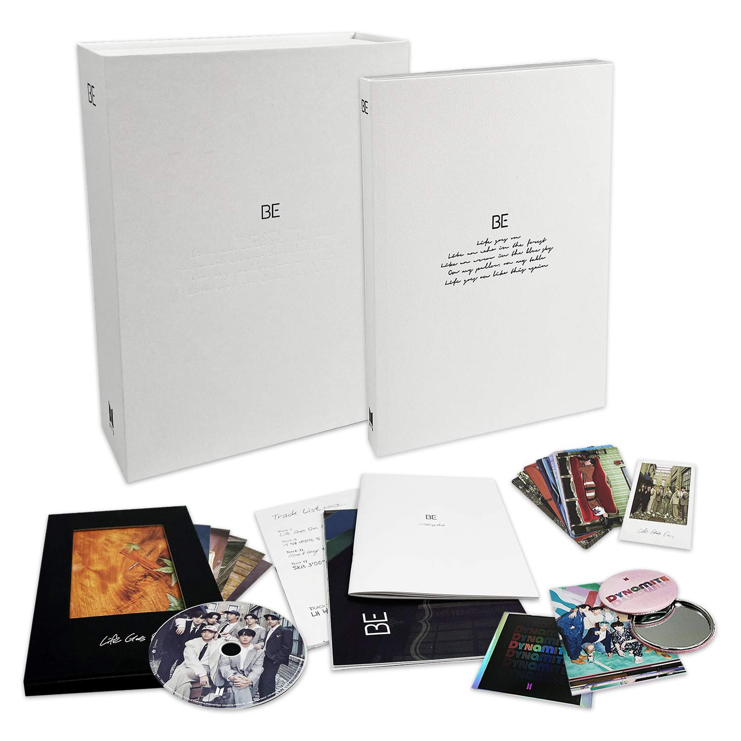 BTS DELUXE EDITION ALBUM - [ BE / Limited ver. ] CD + Photo Book + Making Book + Lyric Poster + Photo Cards + Polaroid + Photo Frame + Postcards + Poster(On pack) + FREE GIFT