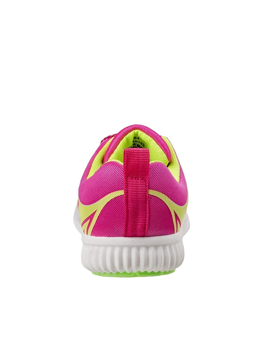 Josmo Little Girls Fuchsia Lime Lace-Up Fashion Sneakers 6 Toddler-11 Kids