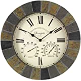 Outside In Designs 5065031 – Clock + Thermometer stongate