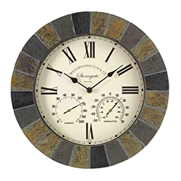 Outside In Designs 5065031 U2013 Clock + Thermometer Stongate