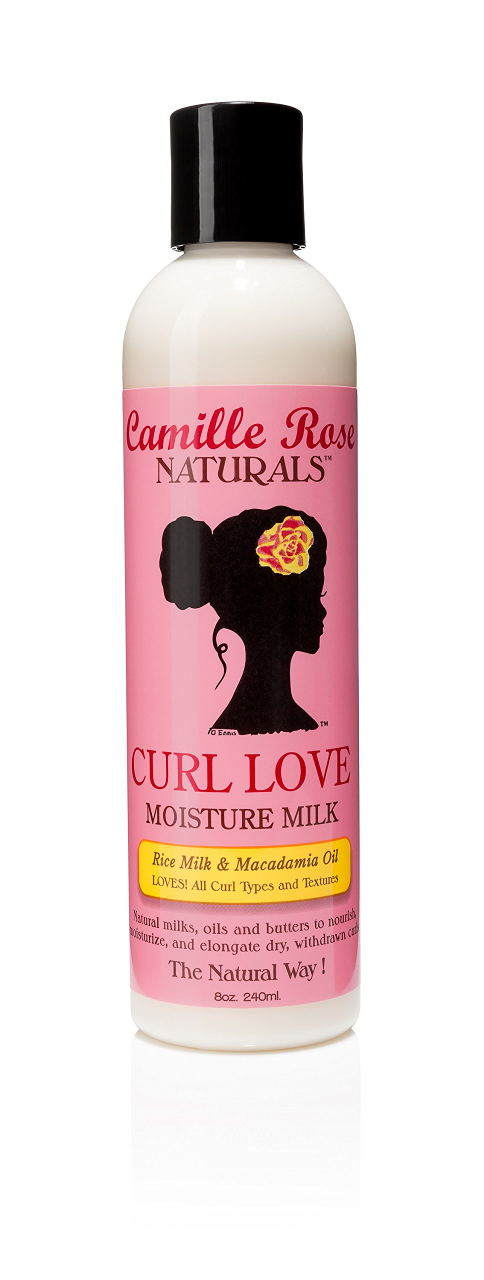 Camille Rose Naturals Curl Love Moisture Milk, 8 Ounce by Camille Rose