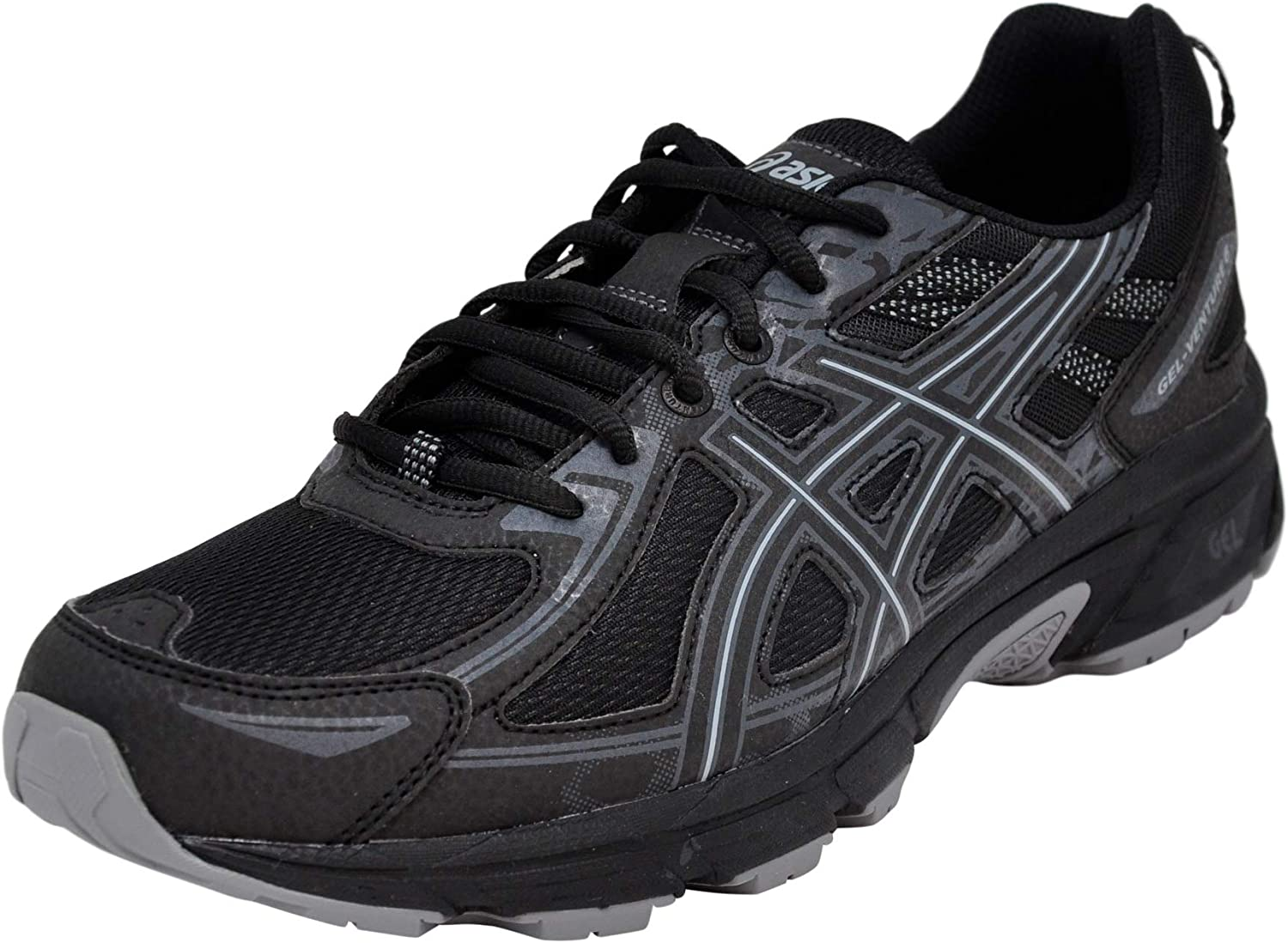 ASICS mens t7g1n Mens Gel-venture 6 Black Size: 11 UK: Amazon.co.uk: Shoes  & Bags