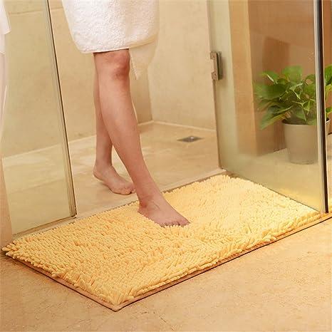 Love Nest Alfombrilla de baño de Chenilla Antideslizante ...
