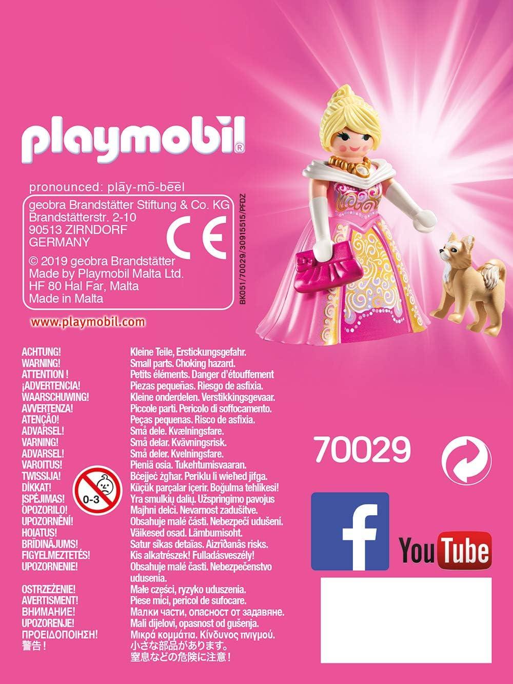 Playmobil PLAYMO-Friends Princesse avec Chien 70029