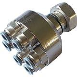 Verteilerfinger Anschlüsse für alle 8mm Warmwasser Fußbodenheizungen 1 fach