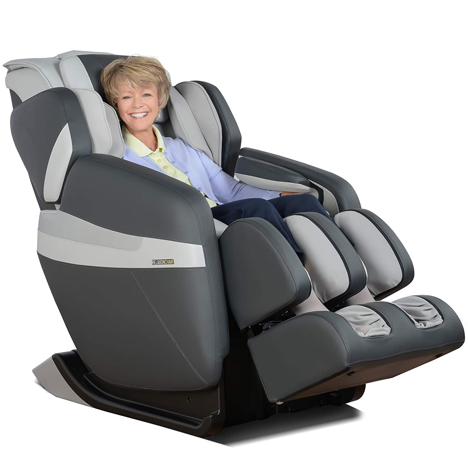 RELAXONCHAIR [MK-Classic] Full Body Zero Gravity Shiatsu Massage Chair with Built-in Heat and Air Massage System