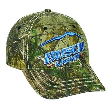992793245973b Busch Light Blue Mountain Anheuser Busch Beer Drinking Realtree Xtra Cap Hat  186