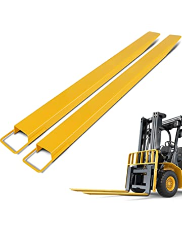 BestEquip 60 Inch x 4.5 Inch Pallet Forks Extensions Steel Pallet Forks Forklift Pallet Fork Extensions