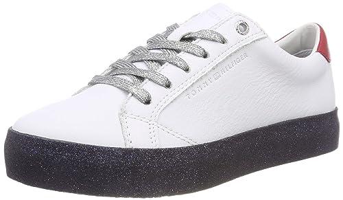 Tommy Hilfiger Glitter Dress Sneaker, Zapatillas para Mujer: Amazon.es: Zapatos y complementos