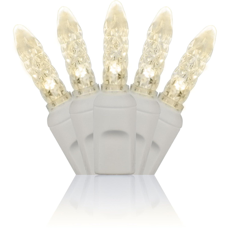 Amazon.com : 70 M5 Warm White LED Christmas Lights, 4\