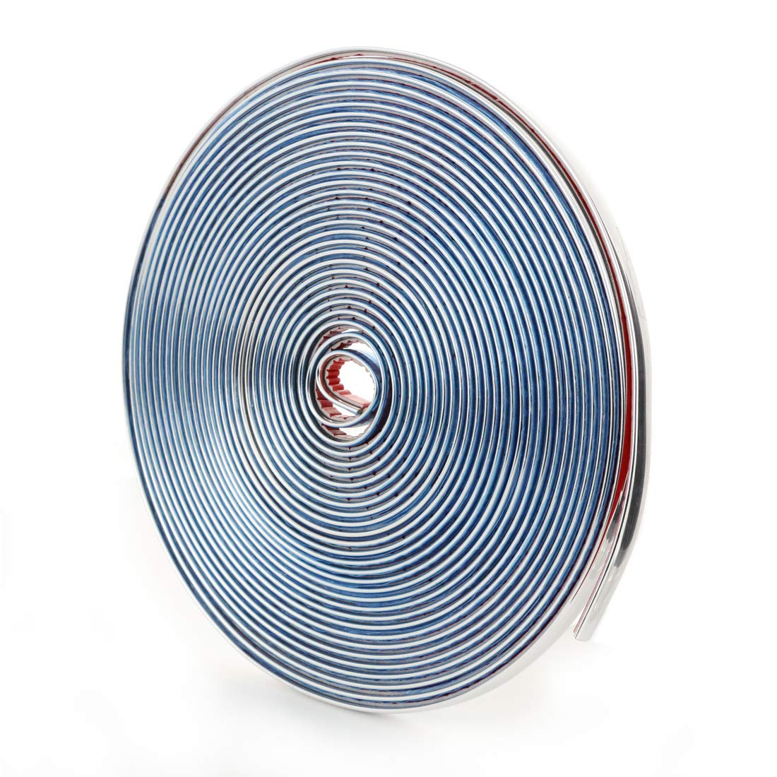 Unbranded Chrom Zierleiste 8 mm x 5m Selbstklebend universal Auto Chromleiste