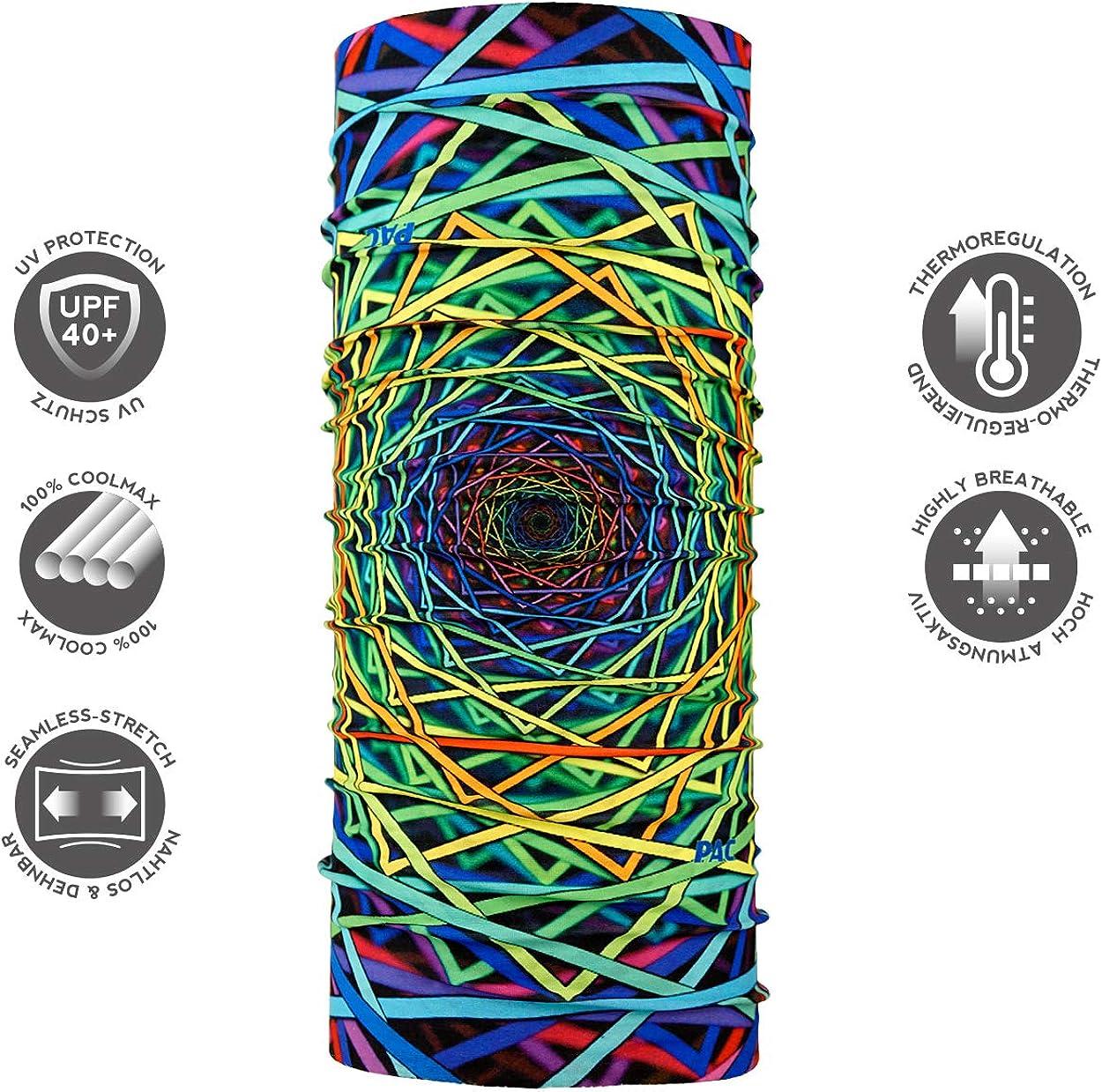 Schlauchtuch Outdoortuch Schal 10 Tragevarianten Halstuch Kopftuch f/ür Kinder P.A.C Kids UV Protector Stirnband verschiedenste Designs Multifunktionstuch