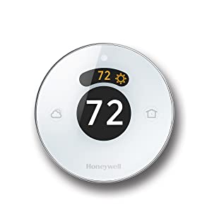 Lyric Round 2.0 Wi-Fi Smart Programmable Thermostat with Geofencing, IFTTT, Works with Alexa