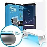 Dome Glass, Vetro Temperato Galaxy S 8, Custodia Compatibile, Whitestone Copertura Completa 3D Schermo Edge Pellicola [Tecnologia Liquid Dispersion] per Samsung Galaxy S8