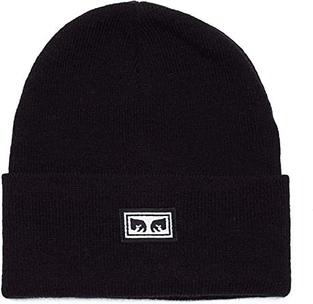 OBEY, Icon eyes beanie, Black - TU: Amazon.es: Ropa y accesorios