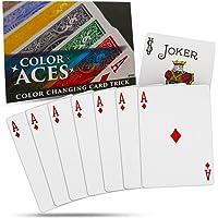 Magic Makers Color Aces Card Magic Trick with Magic Training