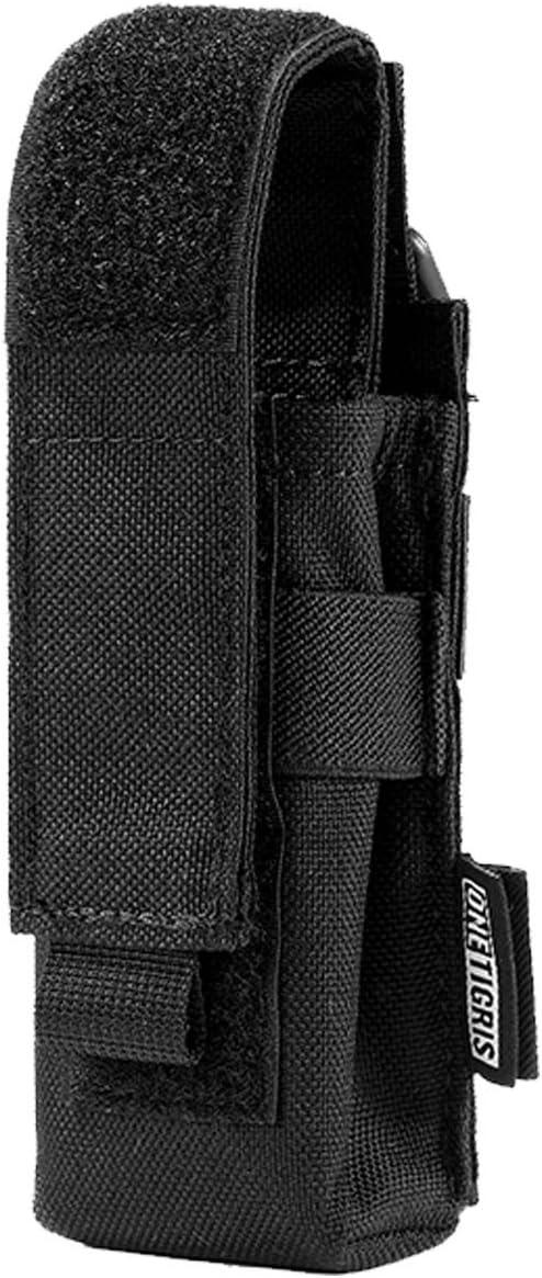 nw 14cm Portable Nylon Holster Holder Pouch Waist Belt Bag for Flashlight Torch