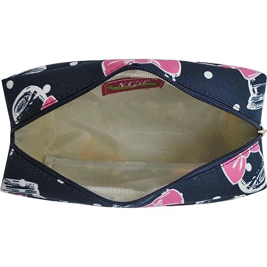 fef0eb0129a5 Bowtie Mason Jar Print NGIL Large Cosmetic Travel Pouch