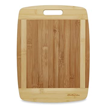 Kitchen Active Bamboo Cutting Board. Premium Natural Bamboo Boards Are Best  For Chopping Brie Cheese