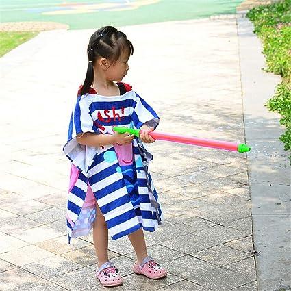 FIFY Toalla de baño para niños niño Toalla de Playa niña Manto de algodón con Capucha