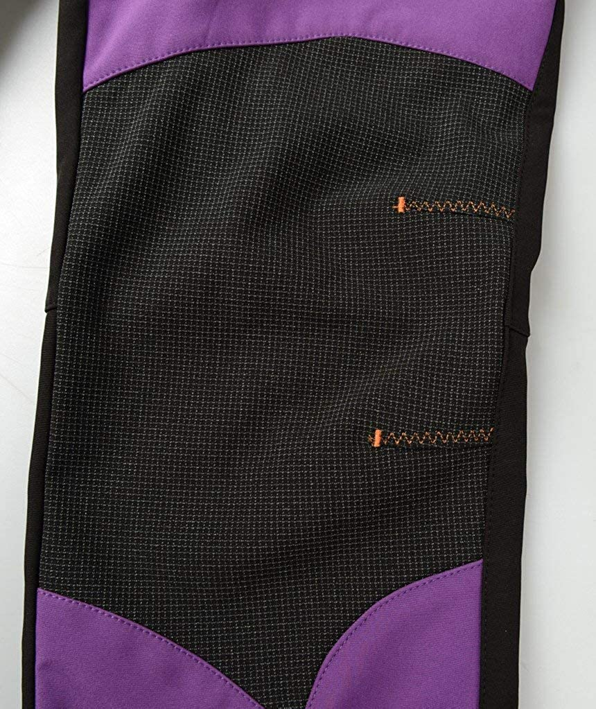 SANKE Womens Outdoor Windproof Waterproof Softshell Fleece Ski Snow Pants