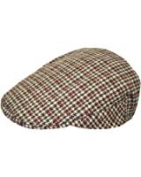 TOSKATOK® Mens Tweed Flat Cap