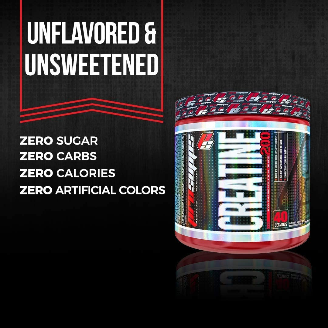 Amazon.com: ProSupps® Creatine 200, 100% Pharmaceutical Grade Creatine Monohydrate, 40 servings, 7.05 Ounce: Health & Personal Care