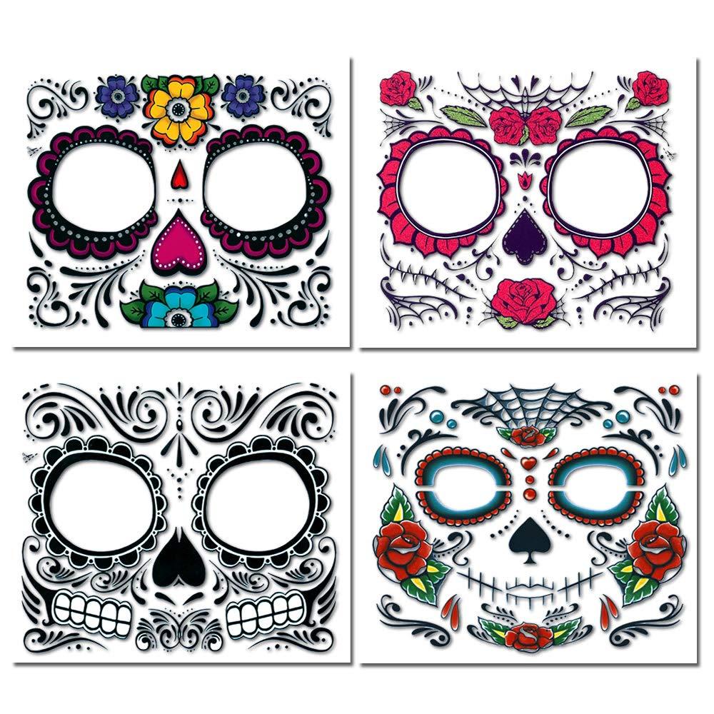 Kit de tatuajes temporales Halloween