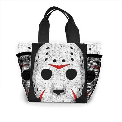 Vbcdgfg Tote Lunch Bag,Horror Skull Print Large Cooler Bag Container Thermal Cooler Pack Picnic Bag for Women&Men Travel Office Beach: Baby