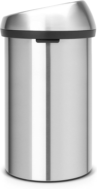 Brabantia 60 Litre Touch Bin - Matt Steel