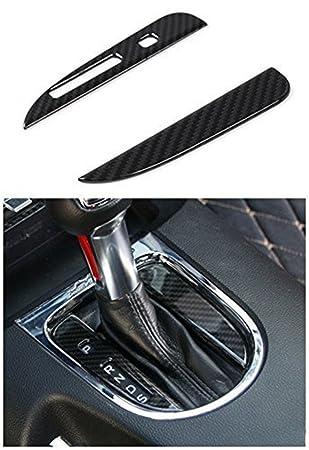 Accesorios interiores de fibra de carbono para Ford Mustang 2015-2017 2 piezas: Amazon.es: Coche y moto