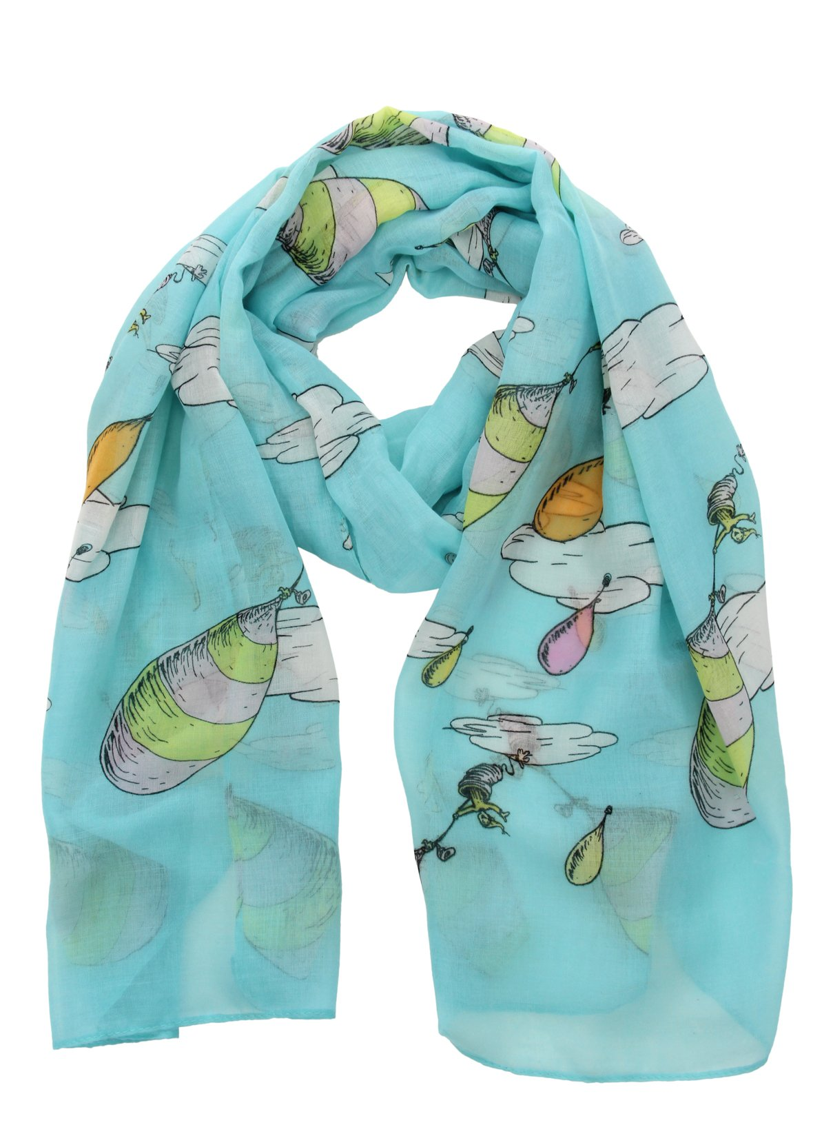 elope Oh The Places You'll Go! Lightweight Scarf