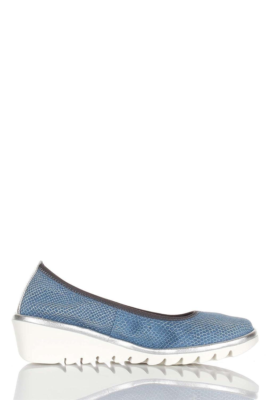 THE FLEXX Las bailarinas zapatos de cuña A206 / 22 de un drama MEL CELESTE talla 37 Paradisíaco 6bfvBBT