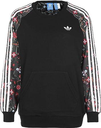 Adidas Moscow PK Crew W Sweater 40 blackmulticolor: Amazon