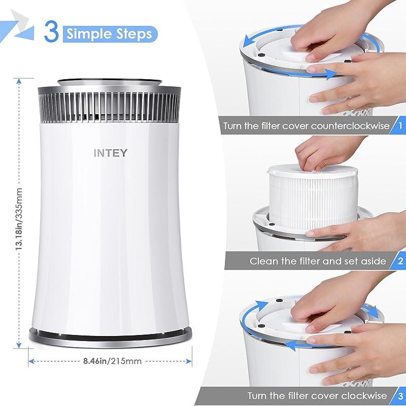 71orRGQDfqL. SL800  Intey NY BG55, purificatore daria con filtro HEPA a carboni attivi e luce ultravioletta
