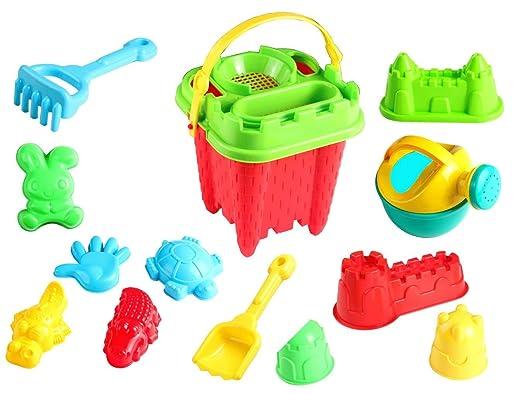 小朋友最爱的沙滩玩具,15件套只要$11.58