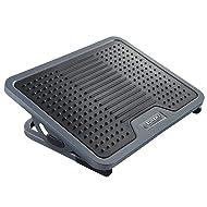 Eureka Ergonomic Tilt Adjustable Footrest with Massage Surface Under Desk, Black & Gray