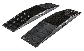 Motamec WRC - Rampa de aluminio anodizado para ruedas (aleación de aluminio), color negro: Amazon.es: Coche y moto