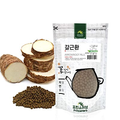 [Medicinal Korean Herbal Pills] 100% Arrowroot Pills (Ge/칡 뿌리 환) 4oz (113g) : Garden & Outdoor