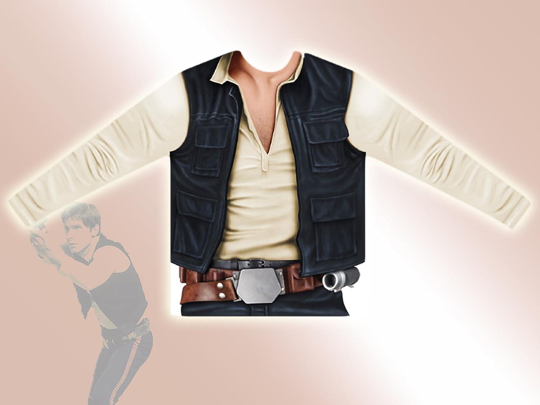 VIVING - Camiseta Star Wars han Solo 6/8 años: Amazon.es: Juguetes ...